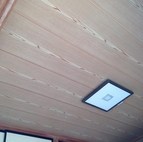 天井張り替え施工後