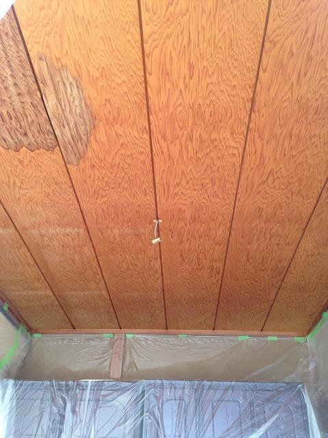 天井張り替え施工前
