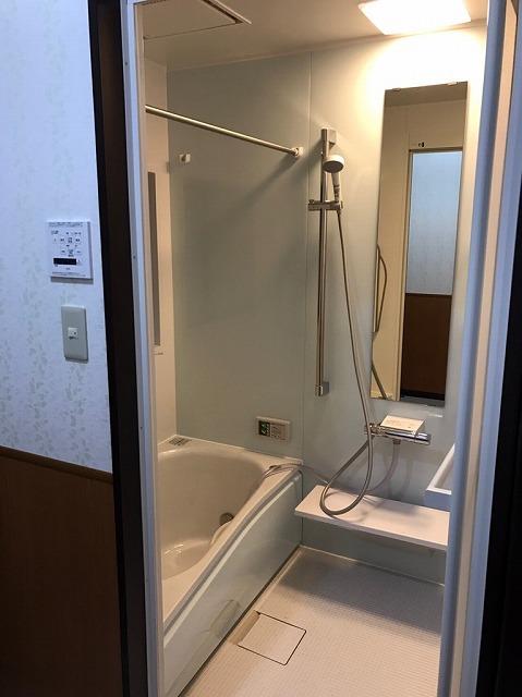 バスルームのリフォーム施工例