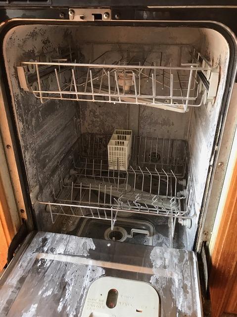 食洗機取り付け施主支給品