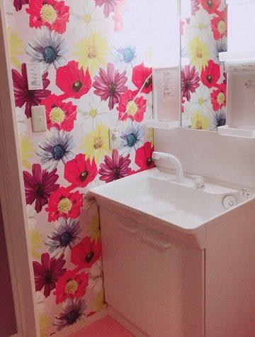 洗面台のリフォーム施工例