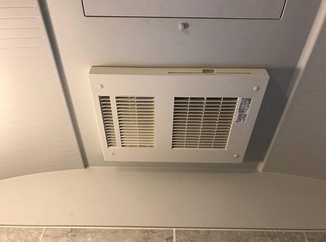浴室暖房換気乾燥機の交換